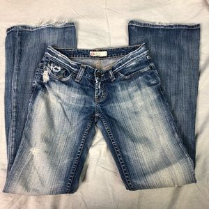 🐢Buckle starlight stretch boot cut jeans 26x33.5
